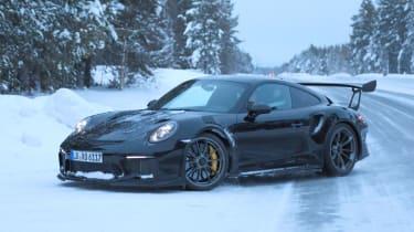 2018 Porsche 911 GT3 RS prototype - Front