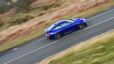 R8 RWS vs BMW M4 CS - pan