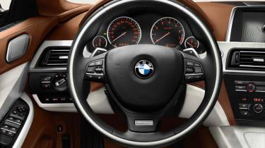 BMW 6-series Gran Coupe dashboard