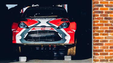 RallyCross fiesta garage