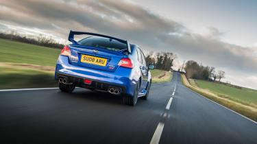 Subaru WRX Final Edition – rear