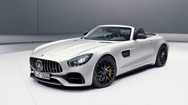Mercedes-AMG GT C Roadster Edition 50 - front three-quarter