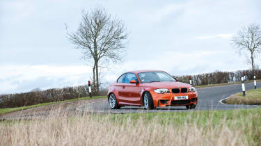 BMW 1-series M Coupe - front cornering