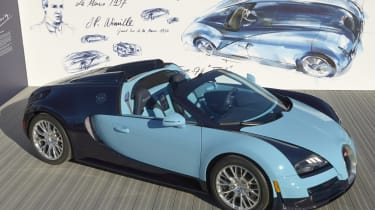 Bugatti Veyron 'Wimille edition' unveiled at The Quail