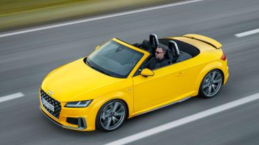 Audi TT facelift - roof