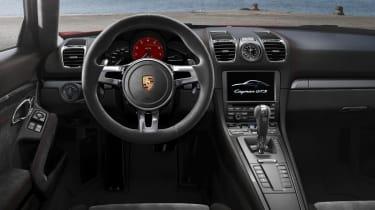 Porsche Boxster GTS interior dashboard