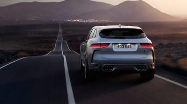 Jaguar F-Pace SVR - tail
