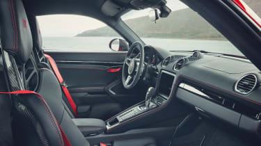 Porsche Cayman T interior