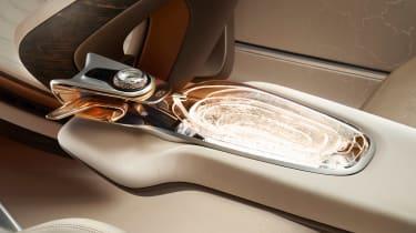 Bentley EXP 100 GT - console