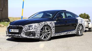 Audi A5 Sportback spy - front quarter