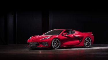 2020 Chevrolet Corvette C8 front low