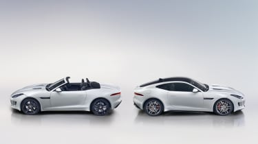 Jaguar F-type Roadster and Coupe