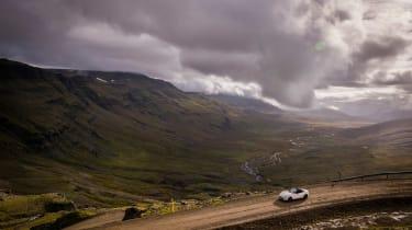 Mazda MX-5 in Iceland - shot