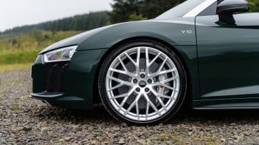 Audi R8 V10 Plus Spyder – front side