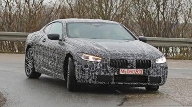 BMW 8-series spy - front