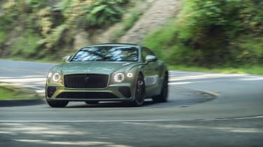 Bentley Continental GT V8 review - front