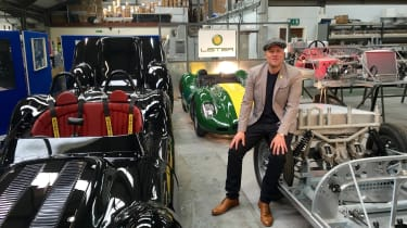 Lister Knobbly - recreation factory