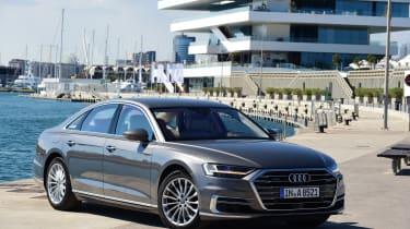 Audi A8 - front quarter static