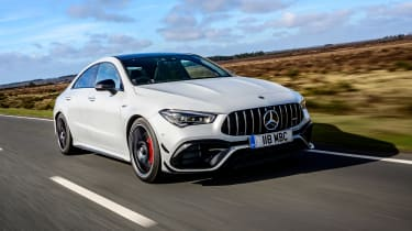Mercedes-AMG CLA45 S front