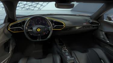 2022 Ferrari 296 GTB AF – dash