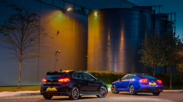Hyundai i30 N and Kia Stinger GT S - pair