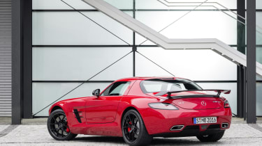 Mercedes SLS AMG GT Final Edition gullwing coupe red