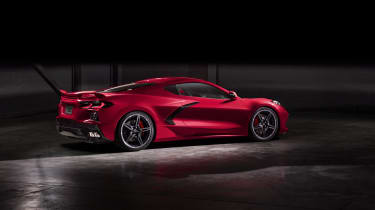 2020 Chevrolet Corvette C8 rear three quarters