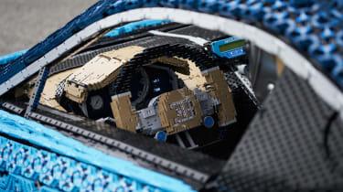 Bugatti Chiron lego - dash