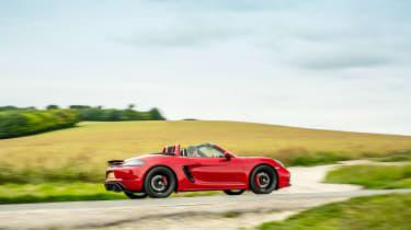 Porsche 718 Boxster GTS 4.0 PDK – side