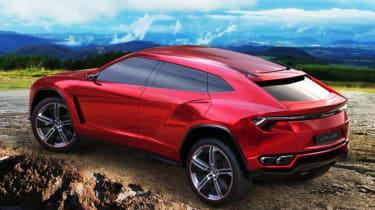 Lamborghini Urus SUV rear