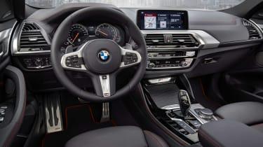 BMW X4 M40d - dash