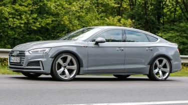 Spy - Audi RS5 Sportback side