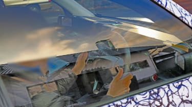 Honda Urban EV spy - dash