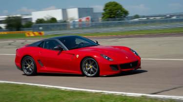 Ferrari 599 GTO supercar review