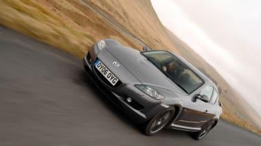 Mazda RX-8 driving