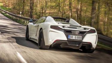 Gemballa GT Spider: tuned McLaren 12C rear
