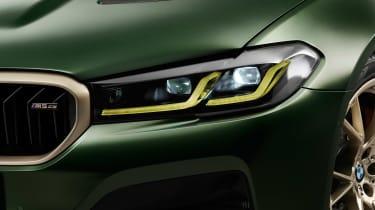 BMW M5 CS - studio lights