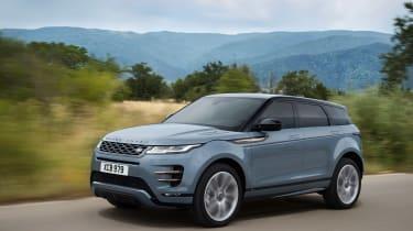 Range Rover Evoque - front quarter