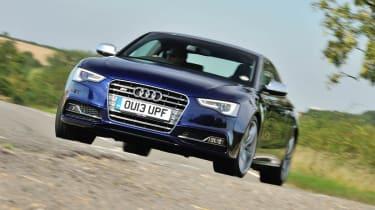 Audi S5 blue