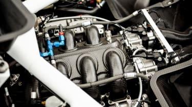 Bentley Continental GT3 Pikes Peak – on loc engine