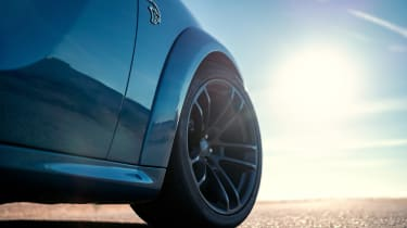 Dodge Charger SRT Hellcat wheel