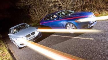 Jaguar XFR v BMW M5