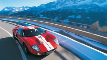 Ford GT Colorado Red - alpine