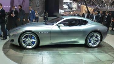 Maserati Alfieri concept side profile