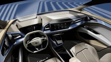 Audi Q4 e-Tron sketch - interior