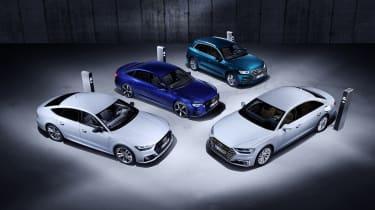 Plug-in hybrid Audis