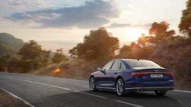 Audi S8 2019 revealed - rear
