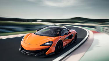 McLaren 600LT first drive - cornering