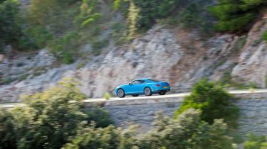 Bentley Continental GT V8 S - driving rear