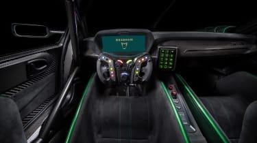 Brabham BT62 - dash